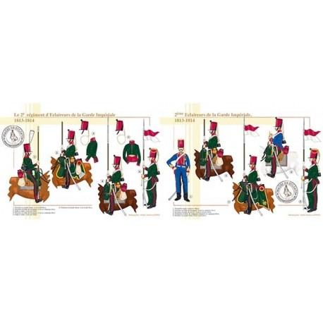 Le 2e régiment d'Eclaireurs de la Garde Impériale, 1813-1814