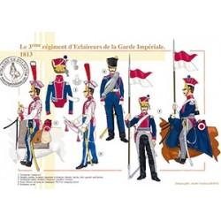 Le 3e régiment d'Eclaireurs de la Garde Impériale, 1813