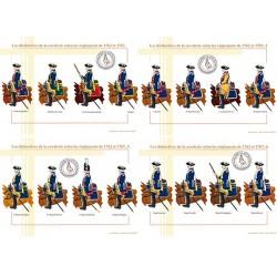 Les distinctives de la cavalerie selon les règlements de 1762 et 1767 (1/2)