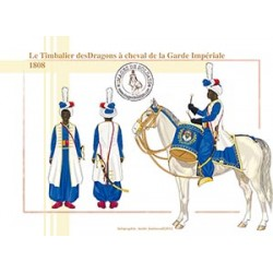 Le Timbalier des Dragons de la Garde Impériale, 1808