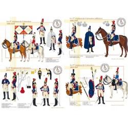 Le 1er Régiment de Cuirassiers, 1803-1810