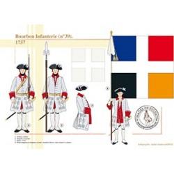 Bourbon Infanterie (n°39), 1757