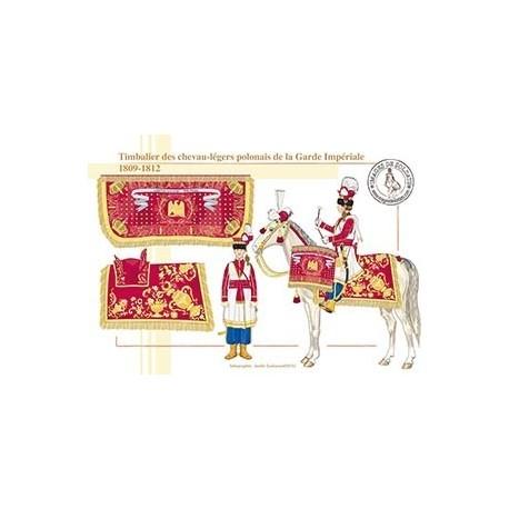 Timbalier des chevau-légers polonais de la Garde Impériale, 1809-1812