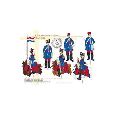 Les Chasseurs d'Afrique, 1835-1844