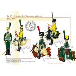 Le 5e régiment de Chasseurs à cheval, 1802-1807