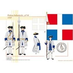 Poitou Infanterie (n°14), 1757