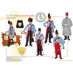 Le 3e régiment de Hussards, 1845-1850