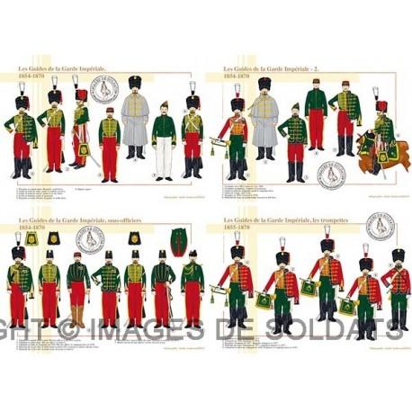 Les Guides de la Garde Impériale, 1854-1870