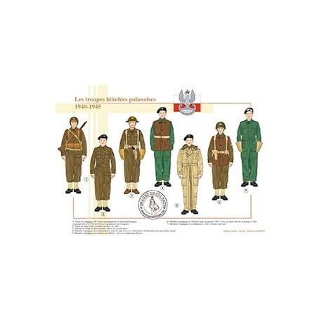 Les troupes blindées polonaises, 1940-1945