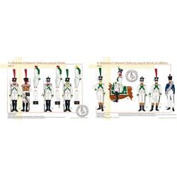 Le Régiment d'Infanterie Italien au camp de Dresde, 1813