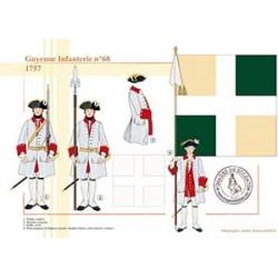Guyenne Infanterie n°68, 1757