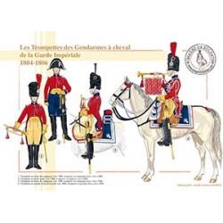 Les Trompettes des Gendarmes à cheval de la Garde Impériale, 1804-1806