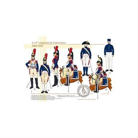 Le 3e régiment de Cuirassiers, 1806-1815
