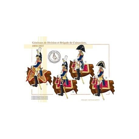 Généraux de Division et Brigade de Cuirassiers, 1804-1815