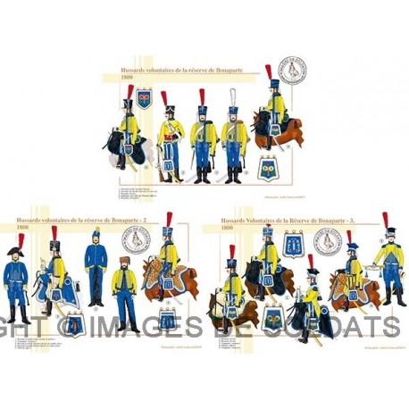 Hussards volontaires de la réserve de Bonaparte, 1800