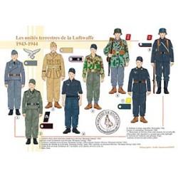 Les unités terrestres de la Luftwaffe, 1943-1944
