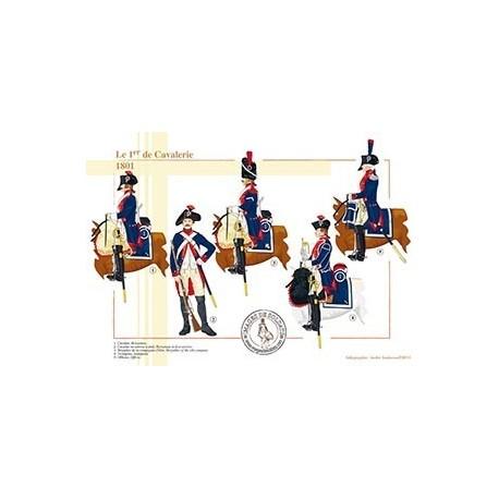 Le 1er de Cavalerie, 1801