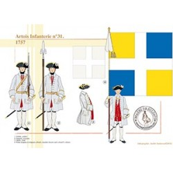 Artois Infanterie n°31, 1757