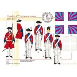 Castella, 4e régiment suisses, 1757-1774