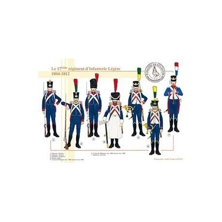 Le 17e régiment d'Infanterie Légère, 1804-1812