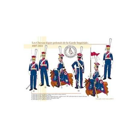 Les Chevau-légers polonais de la Garde Impériale, 1807-1811