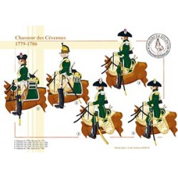Chasseur des Cévennes, 1779-1786