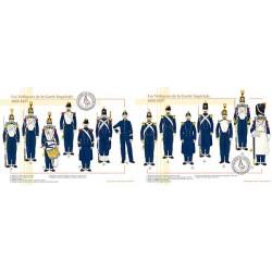 Les Voltigeurs de la Garde Impériale, 1854-1857