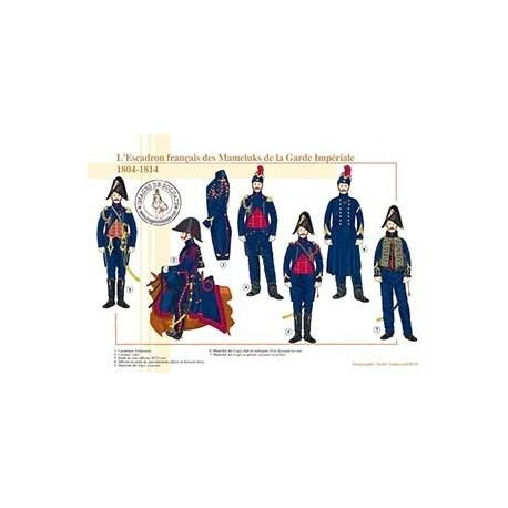 L'Escadron français des Mameluks de la Garde Impériale, 1804-1814
