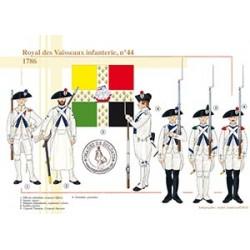 Royal des Vaisseaux infanterie n°44, 1786