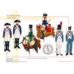 Les Piémontais, 1799-1803