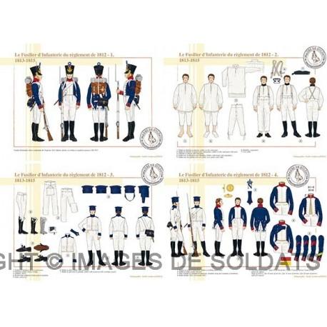 Le Fusilier d'Infanterie du règlement de 1812 (1/2)