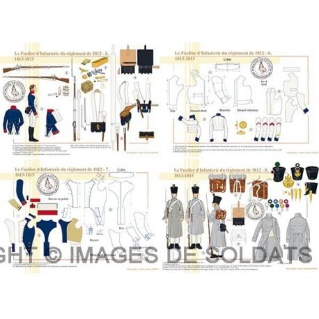 Le Fusilier d'Infanterie du règlement de 1812 (2/2)
