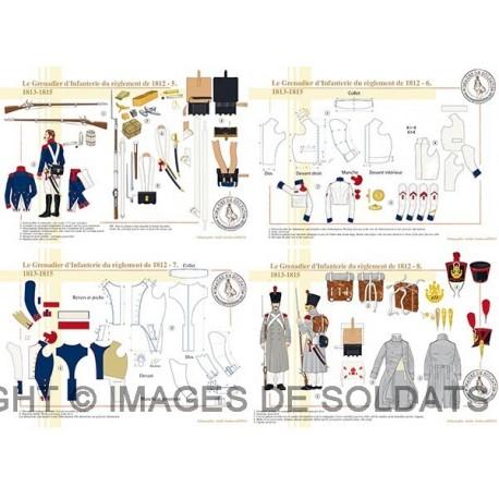 Le Grenadier d'Infanterie du règlement de 1812 (2/2)