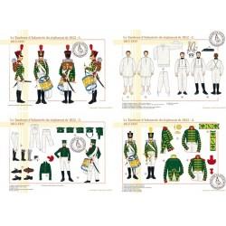 Le Tambour d'Infanterie du règlement de 1812, 1813-1815 (1/2)