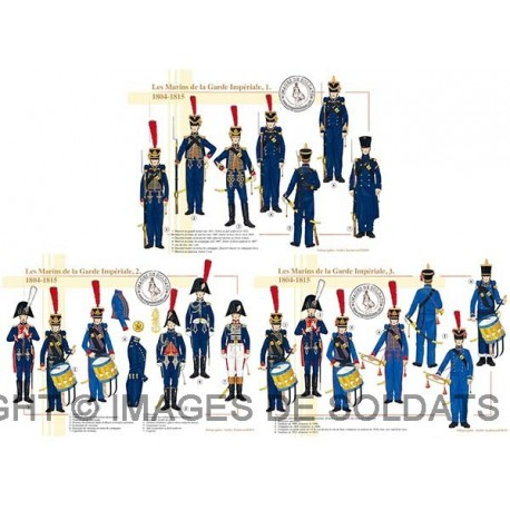 Les Marins de la Garde Impériale, 1804-1815