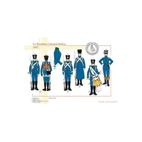 Le Bataillon Colonial Italien, 1812