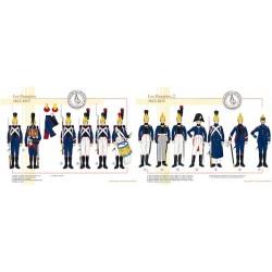 Les Pompiers, 1812-1815