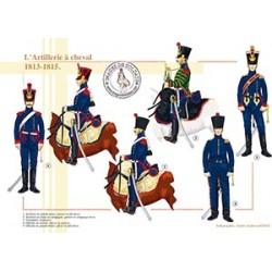 L'Artillerie à cheval, 1813-1815