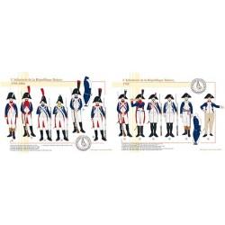 L'Infanterie de la République Batave, 1795-1806
