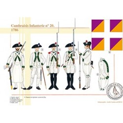 Cambraisis Infanterie n°20, 1786
