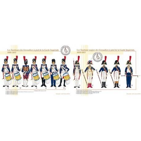 Les Tambours des Grenadiers à pied de la Garde Impériale, 1806-1815