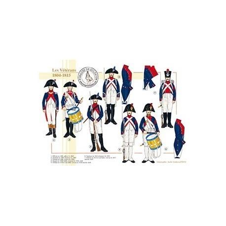 Les Vétérans, 1804-1815