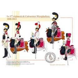 Le 1er régiment de Cuirassiers Westphaliens, 1808-1812