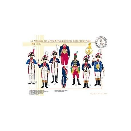 La Musique des Grenadiers à pied de la Garde Impériale, 1805-1810