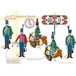 Le 11ème régiment de Hussards, 1793-1803