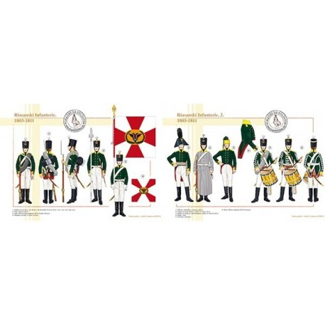 Riasanski Infanterie, 1803-1811