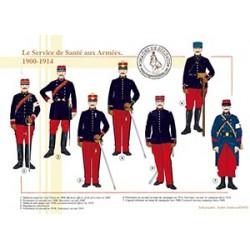 Le Service de Santé aux Armées, 1900-1914