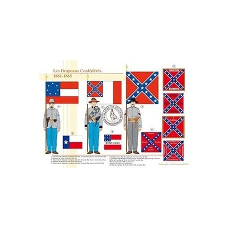 Les Drapeaux Confédérés, 1861-1865
