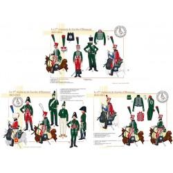 Le 1er régiment de Gardes d'Honneur, 1813-1814