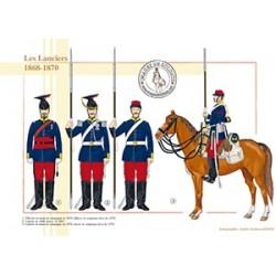 Les Lanciers, 1868-1870